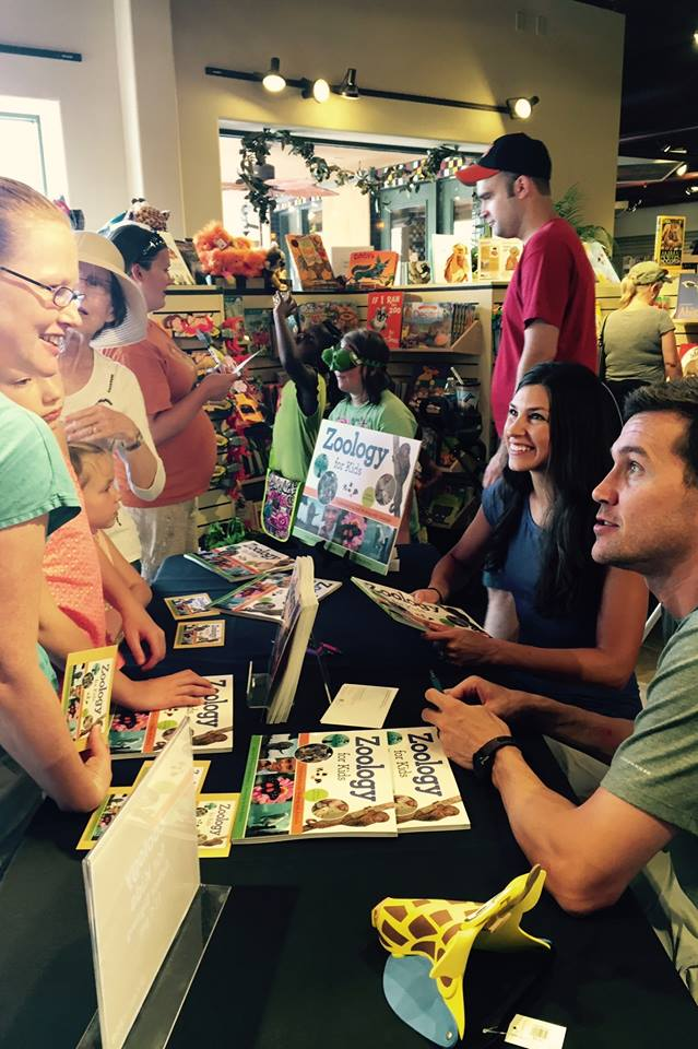 Zoology for Kids book signing at Phoenix Zoo