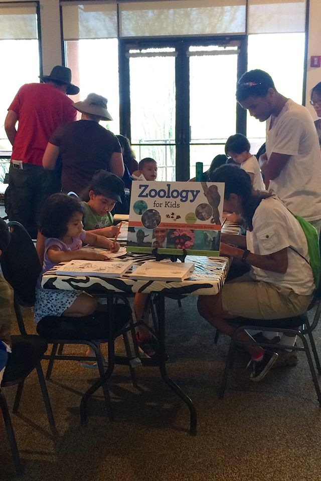 Zoology for Kids activity at Phoenix Zoo