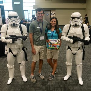 Zoology for Kids authors with Stormtroopers