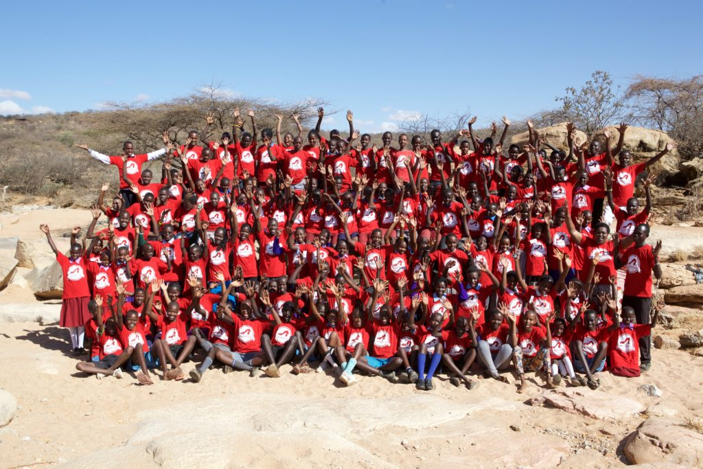 A reunion camp in August 2015 brought 122 former campers back together. Credit: Anthony Allport