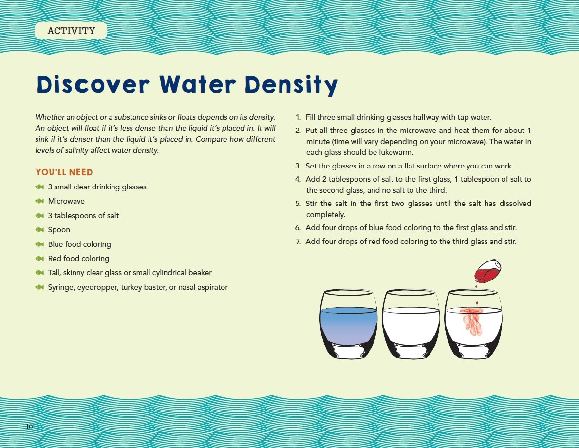 Discover Water Density
